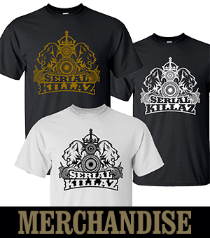 Get your official Serial Killaz merch fron Junglist Network